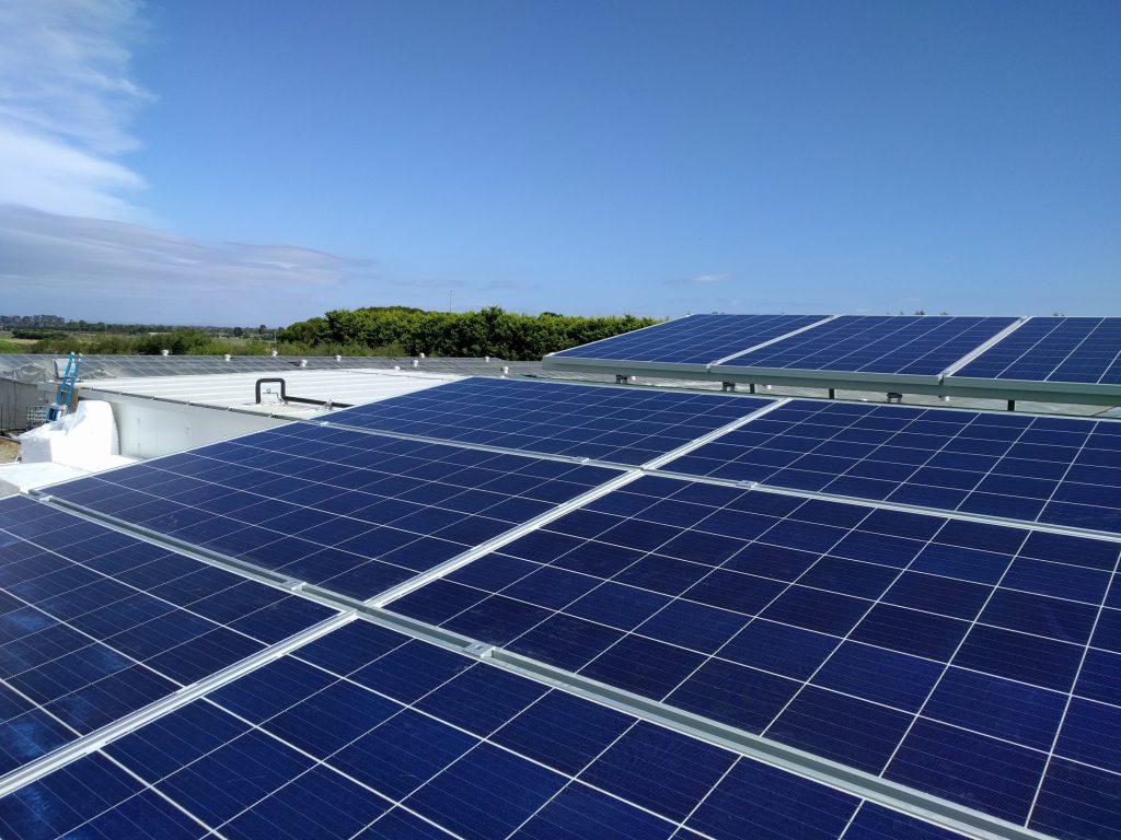 30kW solar on farm